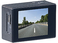 ; Full-HD-Camcorder mit Touch-Screen und App-Steuerung, UHD-Action-Cams
