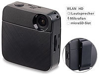 Somikon Mini-HD-Body-Cam mit WLAN & Livestream-Funktion für YouTube & Facebook