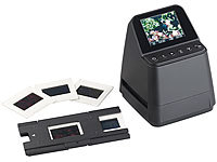 Somikon Stand-Alone-Dia und Negativ-Scanner mit 14-MP-Sensor, 3.200 dpi; Action-Cams HD Action-Cams HD Action-Cams HD Action-Cams HD