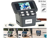 "Somikon Stand-Alone-Dia-, Negativ & Super-8-Scanner, 12,5-cm-Farbdisplay (5"")"