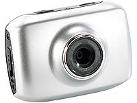 "Somikon 3in1 HD-Action-Cam ""DV-500"" mit Spezial-Software & Zubehörset; Dia- & Negativ-Scanner"