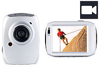 Somikon 3in1-Action-Cam DV-1200 mit Full HD & 6,1-cm-Touchscreen; Action-Cams HD Action-Cams HD Action-Cams HD